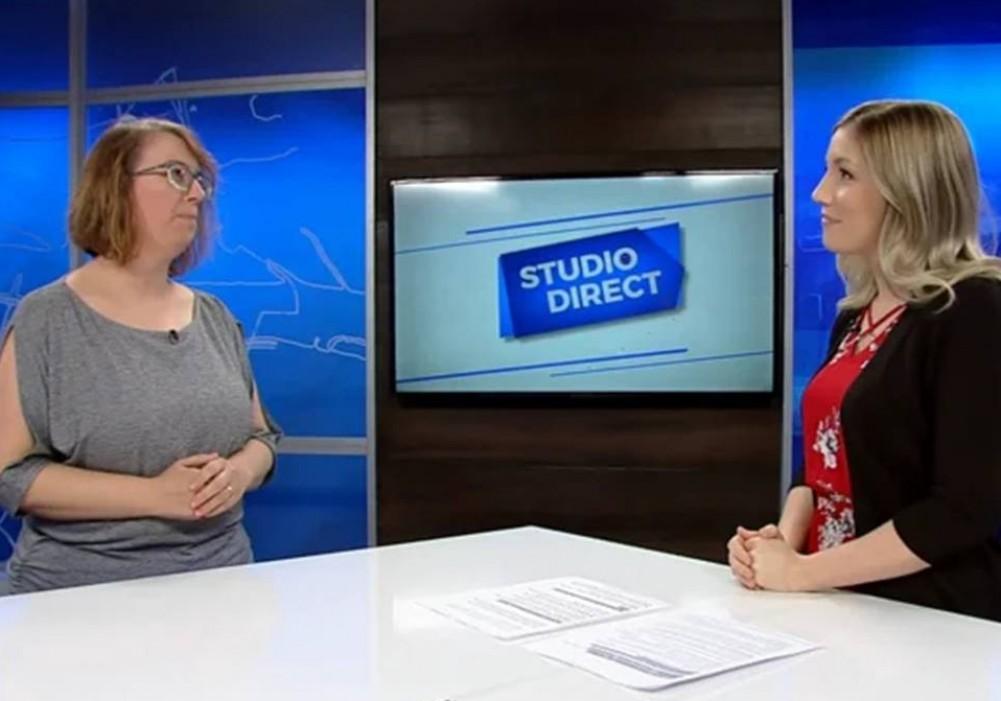 Entrevue à TVRS lors de la semaine de l'action bénévole